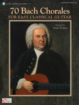 70 Bach Chorales for Easy Classical Guitar (HL-02501703)