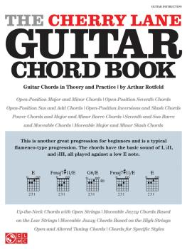 The Cherry Lane Guitar Chord Book: Guitar Chords in Theory and Practic (HL-02501729)