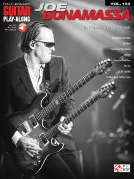 Joe Bonamassa: Guitar Play-Along Volume 152 (HL-02501751)