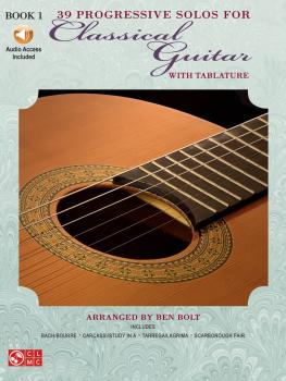 39 Progressive Solos for Classical Guitar (Book 1) (HL-02506915)