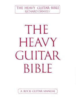 The Heavy Guitar Bible (HL-02509105)