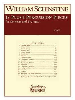 17 + 1 Percussion Pieces (HL-03770317)