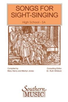 Songs for Sight Singing¦- Volume 1: High School Edition SSA Book (HL-03770558)