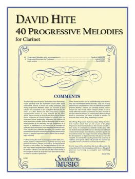 40 Progressive Melodies (Clarinet) (HL-03770581)