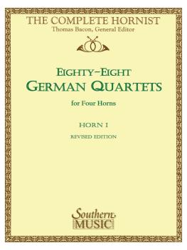 88 German Quartets: Horn Quartet - Horn 1 (HL-03770608)