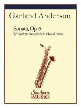 Sonata Op. 6 (Baritone Sax) (HL-03774770)