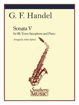 Sonata No. 5 in E Flat (Tenor Sax) (HL-03774997)