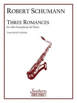 Three Romances (Alto Sax) (HL-03775044)