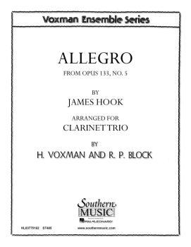 Allegro  Op. 133, No. 5 (Clarinet Trio) (HL-03775162)