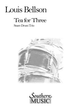 Tea For Three (3): Percussion Music/Snare Drum Ensemble (HL-03775306)