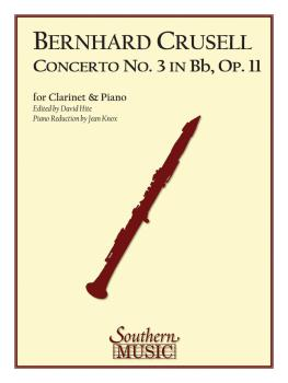 Concerto No. 3 in B Flat, Op. 11 (Clarinet) (HL-03775520)