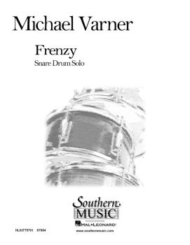 Frenzy: Percussion Music/Snare Drum Unaccompanied (HL-03775701)
