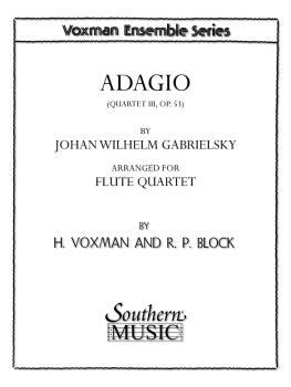 Adagio (Archive) (Flute Quartet) (HL-03775800)