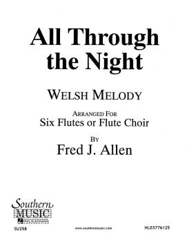 All Through the  Night (Flute Choir) (HL-03776125)