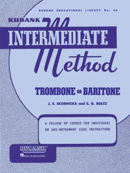 Rubank Intermediate Method - Trombone or Baritone (HL-04470190)