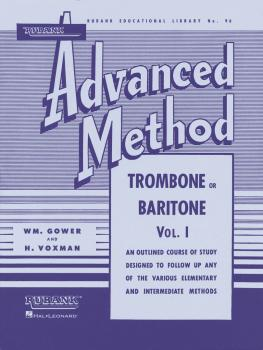 Rubank Advanced Method - Trombone or Baritone, Vol. 1 (HL-04470350)