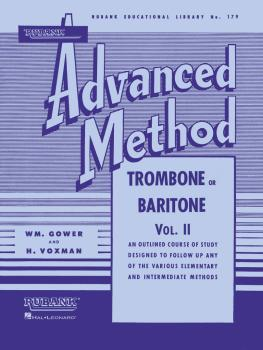 Rubank Advanced Method - Trombone or Baritone, Vol. 2 (HL-04470360)