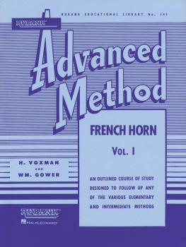 Rubank Advanced Method - French Horn in F or E-flat, Vol. 1 (HL-04470440)
