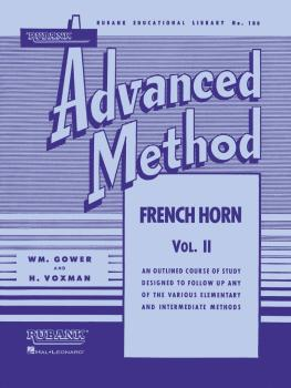 Rubank Advanced Method - French Horn in F or E-flat, Vol. 2 (HL-04470450)