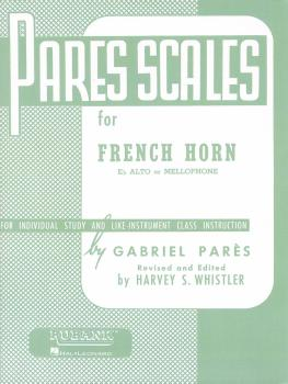 Pares Scales - French Horn in F or E-flat and Mellophone (HL-04470550)