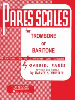 Pares Scales: Trombone or Baritone B.C. (HL-04470560)