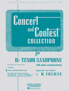 Concert and Contest Collection for Bb Tenor Saxophone (Piano Accompani (HL-04471720)