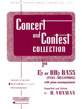 Concert and Contest Collection for Bass/Tuba (B.C.) (Solo Part) (HL-04471810)