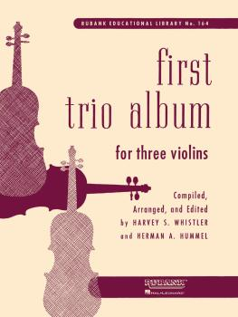 First Trio Album for Three Violins: in Elementary First Position (HL-04472750)