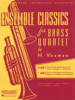Ensemble Classics for Brass Quartet - Book 1 (for Two Cornets Trumpets (HL-04475329)