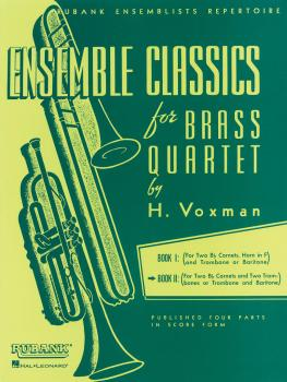 Ensemble Classics for Brass Quartet - Book 2 (for Two Cornets Trumpets (HL-04475331)