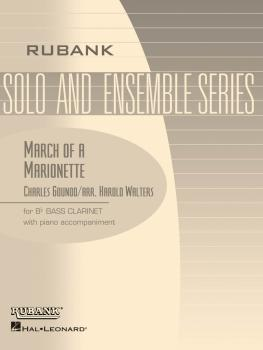 March of a Marionette: Bb Bass Clarinet Solo with Piano - Grade 2 (HL-04476892)