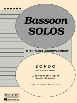 Rondo (from Concerto for Bassoon, Op. 75): Bassoon Solo with Piano - G (HL-04476936)