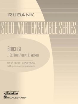 Berceuse: Tenor Saxophone Solo with Piano - Grade 3.5 (HL-04477527)