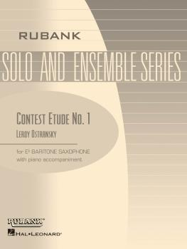 Contest Etude No. 1: Baritone Sax Solo with Piano - Grade 3 (HL-04477558)