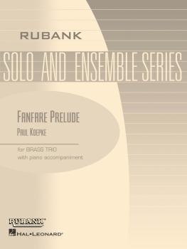 Fanfare Prelude: Brass Trio with Piano - Grade 2 (HL-04477699)