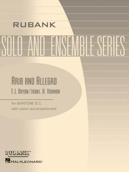 Aria and Allegro: Baritone B.C. Solo with Piano - Grade 3 (HL-04477726)