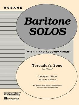 Toreador's Song (from Carmen): Baritone Solo B.C. or T.C. with Piano - (HL-04477736)