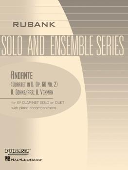 Andante (from Quartet in D, Op. 60 No. 2): Clarinet Quartet - Grade 2. (HL-04479518)
