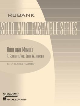 Aria and Minuet: Clarinet Quartet - Grade 2 (HL-04479521)