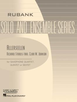 Allerseelen (Op. 10, No. 8): Flexible Saxophone Ensemble - Grade 3 (HL-04479580)