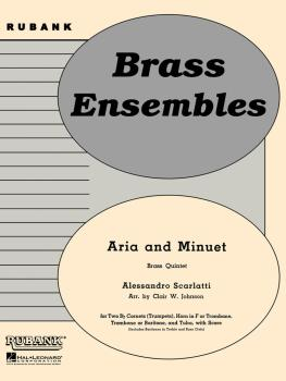 Aria and Minuet: Brass Quintet - Grade 3 (HL-04479733)