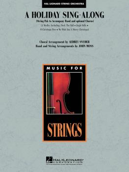 A Holiday Sing-Along (Medley for Band and Choir) (String Pak) (HL-04490211)