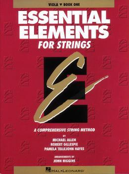 Essential Elements for Strings - Book 1 (Original Series) (Viola) (HL-04619002)
