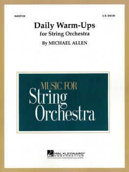 Daily Warm-Ups for String Orchestra (HL-04625100)
