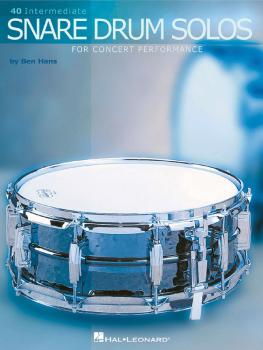 40 Intermediate Snare Drum Solos (for Concert Performance) (HL-06620067)