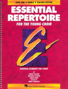Essential Repertoire for the Young Choir: Level 1 Treble, Teacher (HL-08740109)