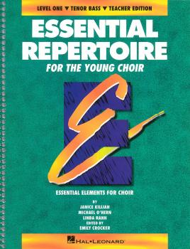 Essential Repertoire for the Young Choir: Level 1 Tenor Bass, Student (HL-08740110)