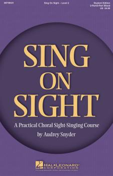 Sing on Sight - A Practical Sight-Singing Course (Level 2) (HL-08749441)