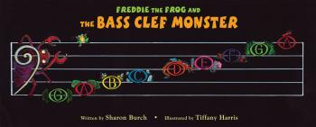 Freddie the Frog and the Bass Clef Monster Poster (HL-09971500)