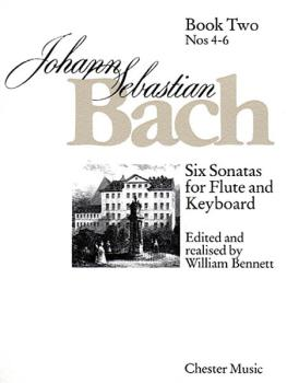 6 Sonatas for Flute and Keyboard - Book Two Nos. 4-6 (HL-14003112)